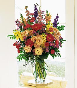 Large Mixed Vase Arrangement